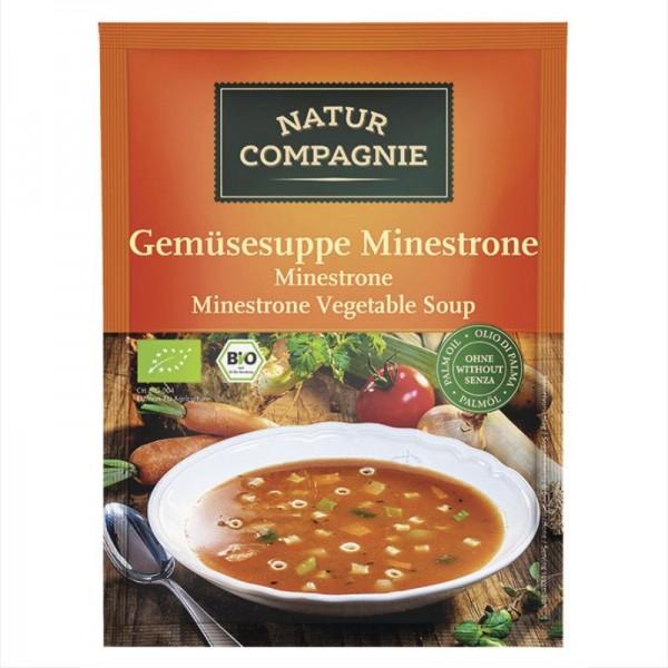 Gemüsesuppe Minestrone Bio, 50g - Natur Compagnie