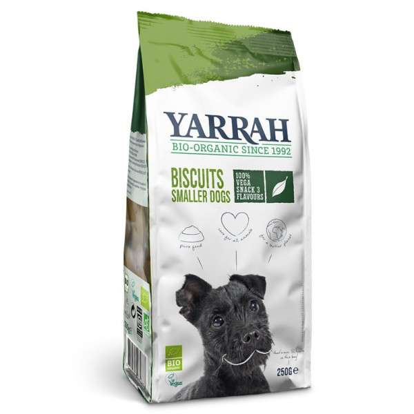 Snack Multi Hundekekse Vega Bio, 250g - Yarrah