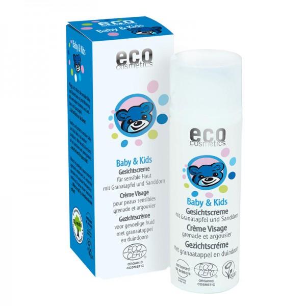 Baby & Kids Gesichtscreme mit Granatapfel & Sanddorn, 50ml - eco cosmetics