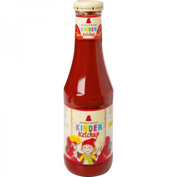 Kinder Ketchup mit Apfelsüsse Bio, 500ml - Zwergenwiese