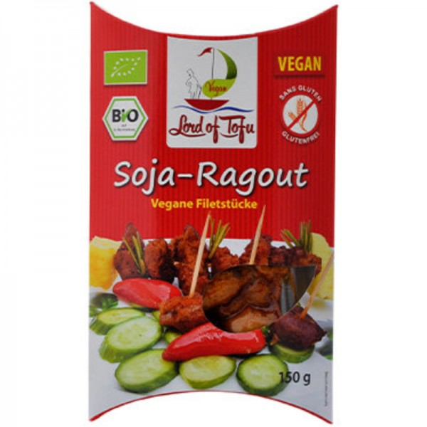 Soja-Ragout Bio, 150g - Lord of Tofu