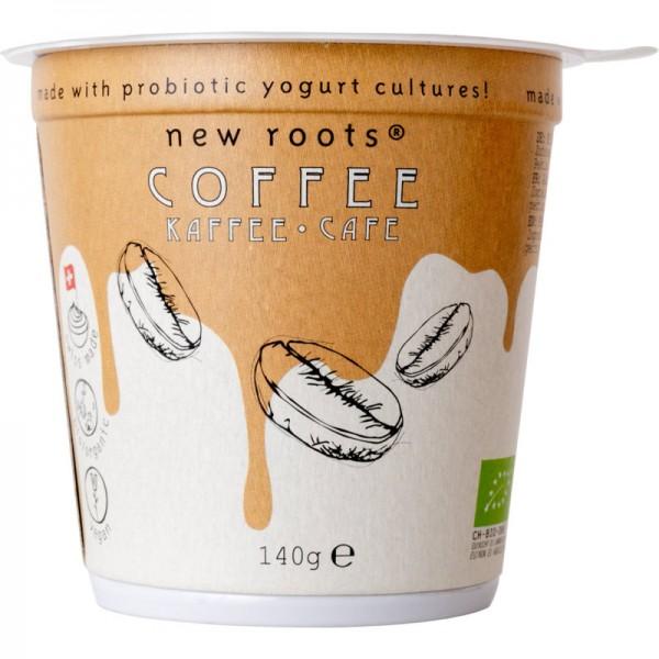 Pflanzliche Alternative zu Kaffee Joghurt Bio, 140g - New Roots