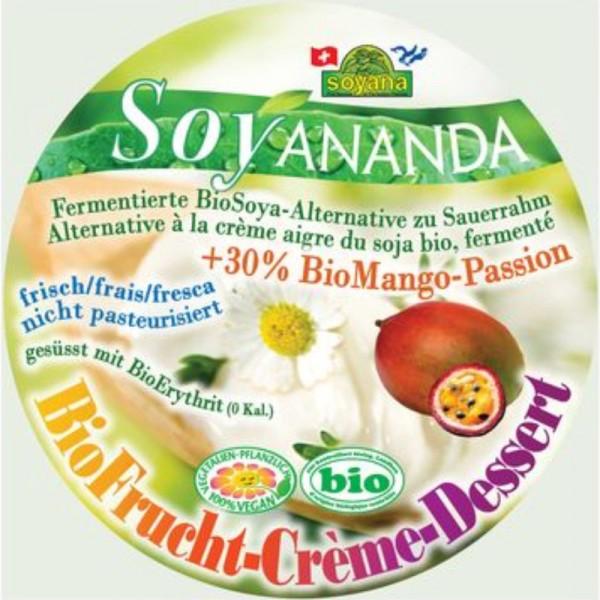 Soyananda Frucht-Crème-Dessert Mango-Passion Bio, 200g - Soyana
