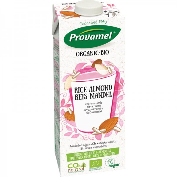 Reis-Mandel Drink ungesüsst Bio, 1L - Provamel