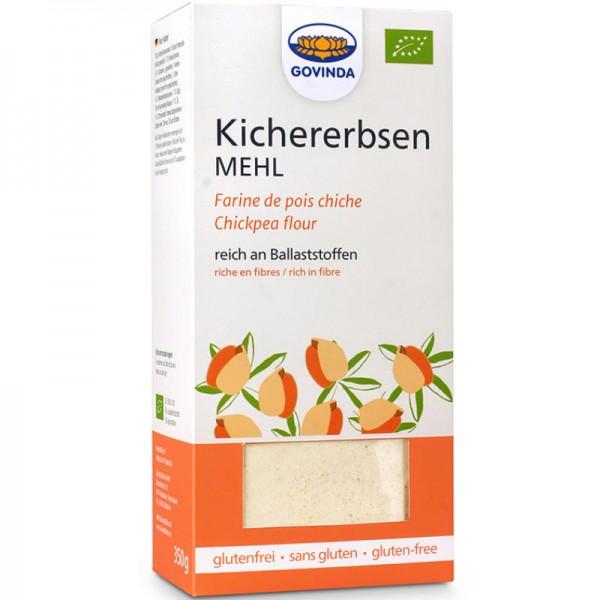 Kichererbsen-Mehl ungeröstet Bio, 350g - Govinda