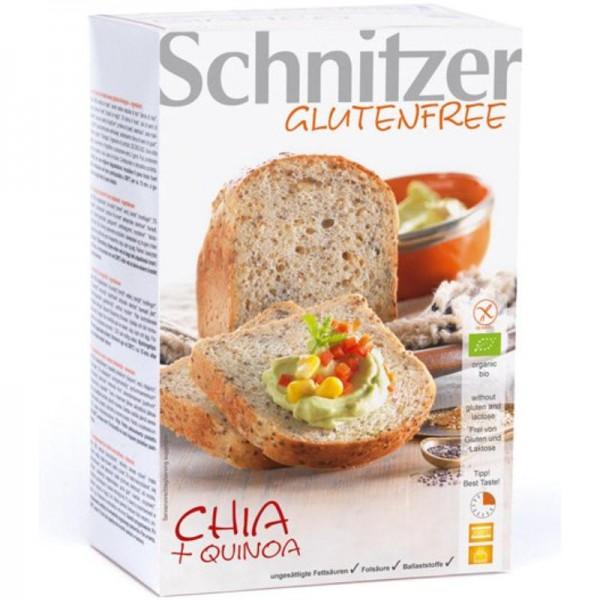Chia + Quinoa Aufbackbrote 2 Stück Bio, 500g - Schnitzer