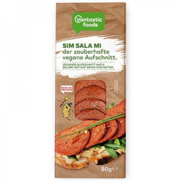 SIM SALA MI der zauberhafte vegane Aufschnitt, 80g - Vantastic Foods