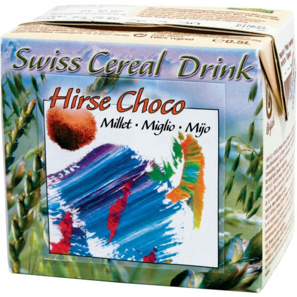 Hirse Choco Millet Swiss Cereal-Drink Bio, 500ml - Soyana