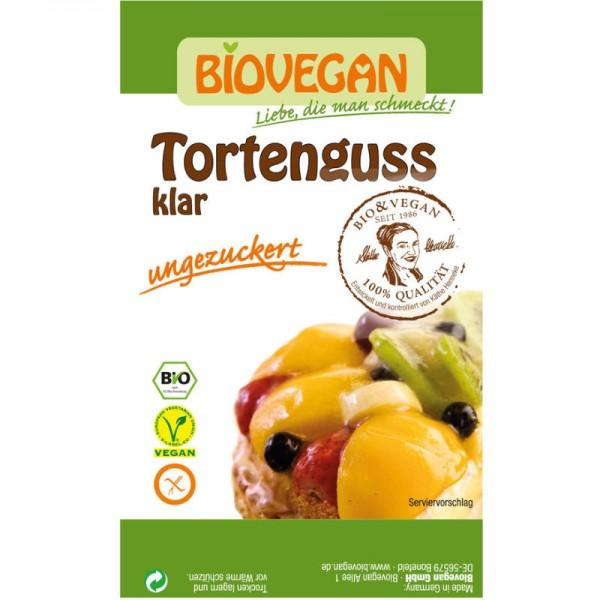 Tortenguss klar Bio, 2 x 6g Biovegan