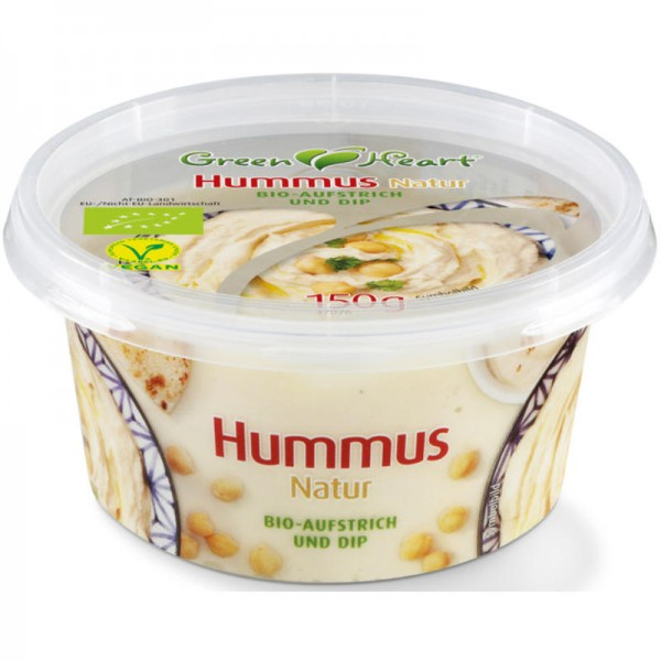 Hummus Natur Bio, 150g - Green Heart