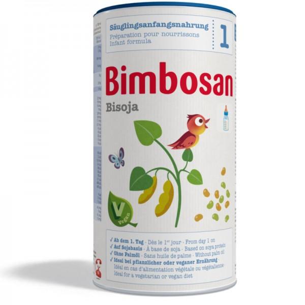 Bisoja ohne Palmöl Anfangsnahrung Dose, 400g - Bimbosan
