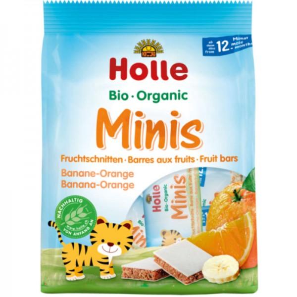 Minis Banane-Orange Fruchtschnitten Bio, 100g - Holle