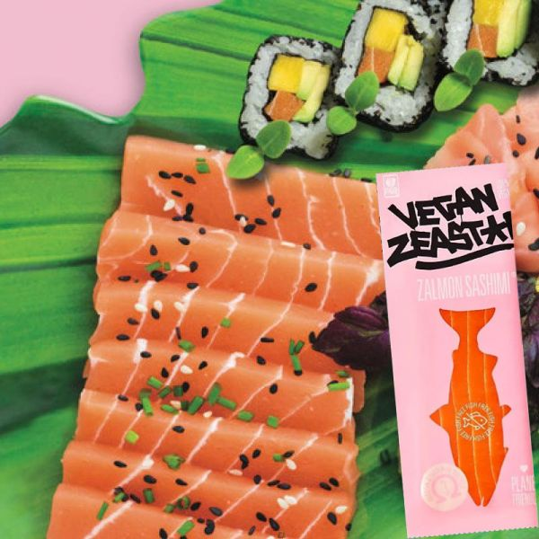 Zalmon Sashimi, 230g - Vegan Zeastar