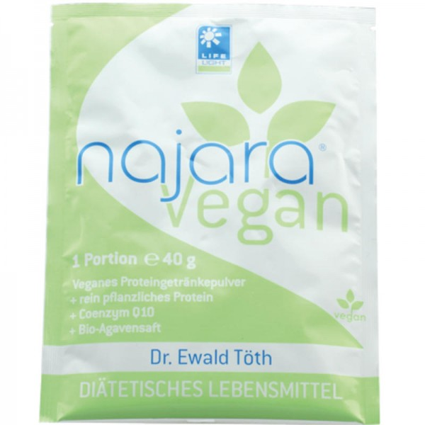 najara vegan to go Dr. Ewald Töth, 40g - Life Light
