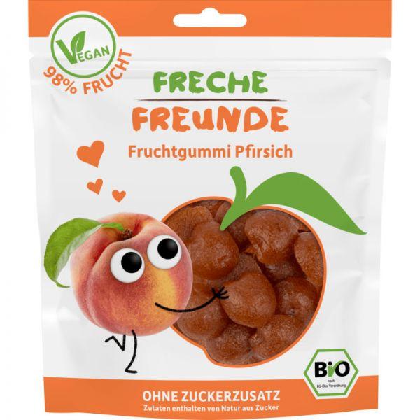 Fruchtgummi Pfirsich Bio, 30g - Freche Freunde