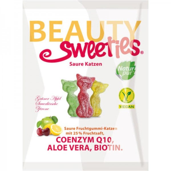 Saure Katzen, 125g - Beauty Sweeties
