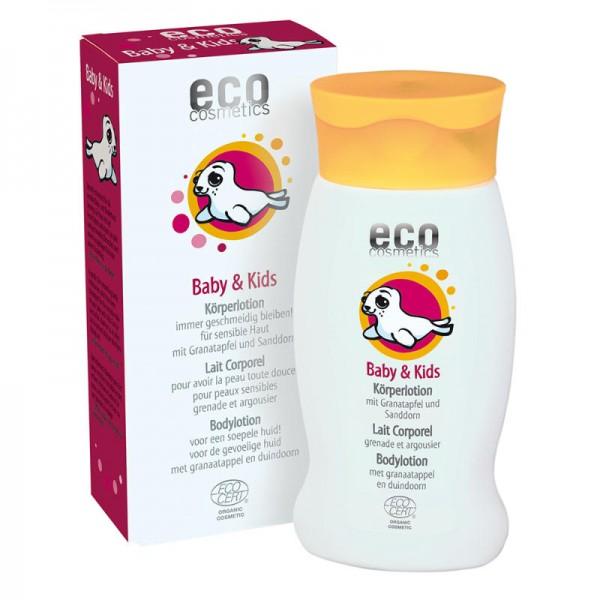 Baby & Kids Körperlotion mit Granatapfel & Sanddorn, 200ml - eco cosmetics