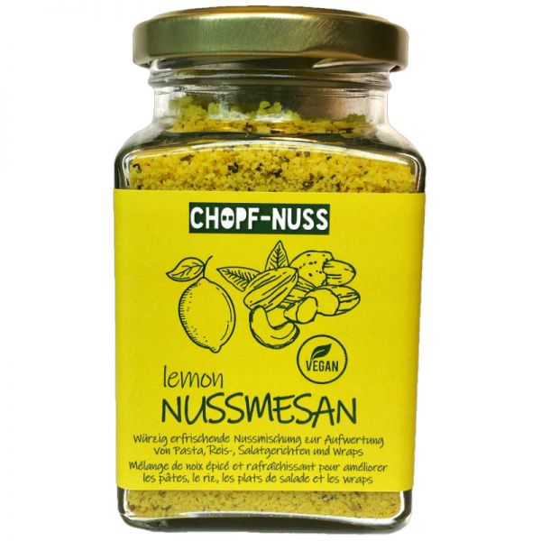 Nussmesan Lemon, 125g - Chopf-Nuss