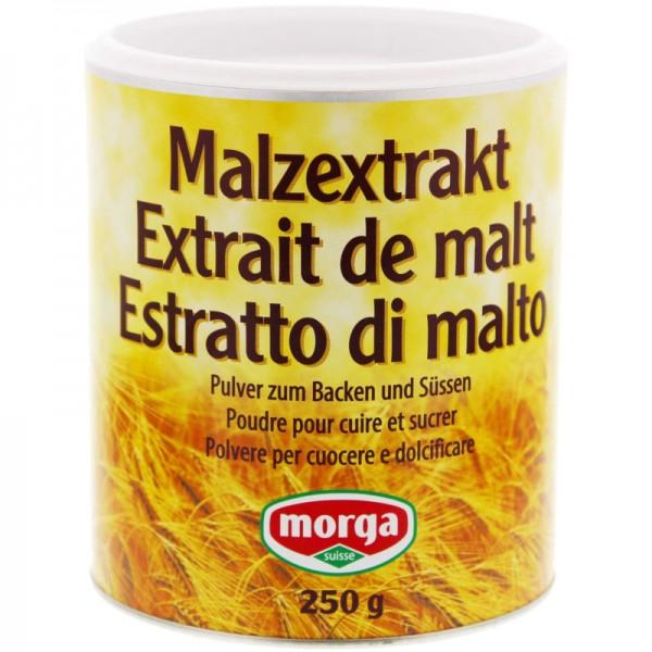 Malzextrakt Pulver zum Backen und Süssen, 250g - Morga