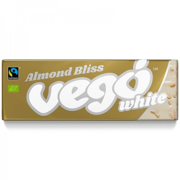 vego Almond Bliss White Bio, 50g - vego Chocolate