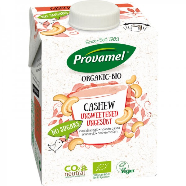 Cashew Natural Drink ungesüsst Bio, 500ml - Provamel