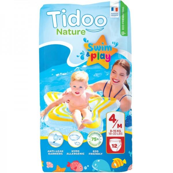 Swim&Play Windeln Grösse 4-H / 8-15kg, 12 Stück - Tidoo