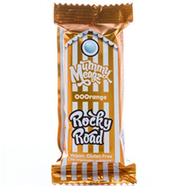 ROCKY ROAD OOOrange Kuchenriegel mit Orangengeschmack, 55g - Mummy Meagz