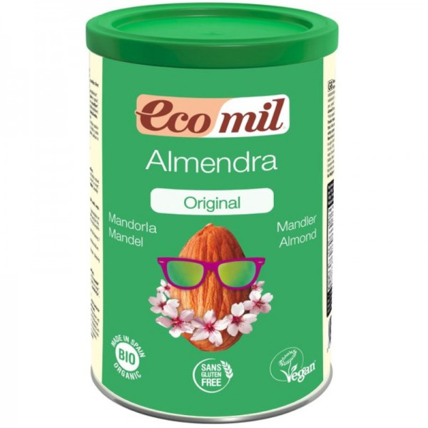 Mandeldrink Pulver Original Bio, 400g - Ecomil